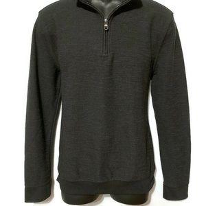 NEW! Goodfellow & Co Black Quarter Zip Sweater